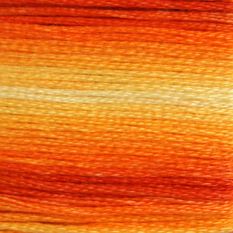 Dentelles 51 Variegated Burnt Orange