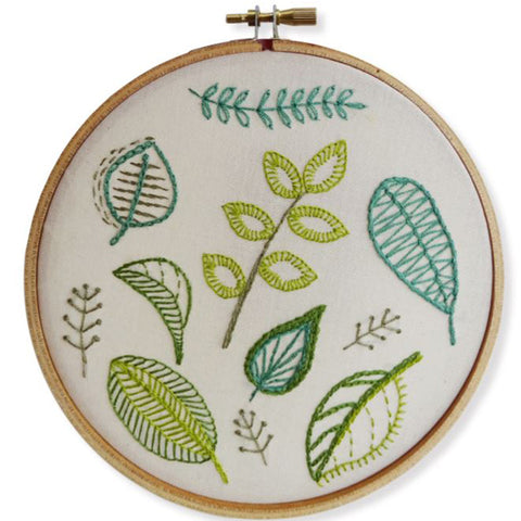 Free Project - Botanical Leaves