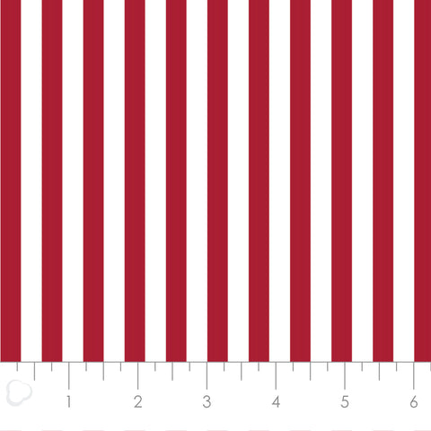 MIXOLOGY  21004-0096  Stripes-Crimson