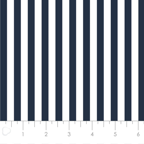MIXOLOGY  21004-0097  Stripes-Indigo