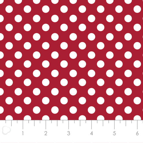 MIXOLOGY  21005-0096  Dots-Crimson