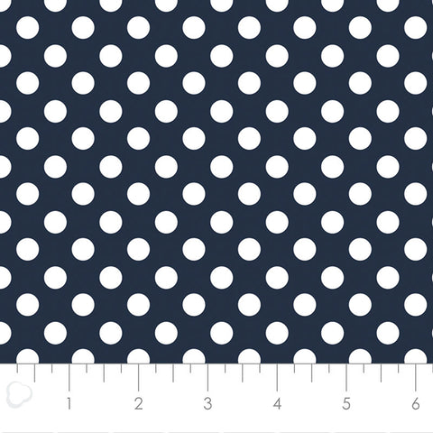 MIXOLOGY  21005-0097  Dots-Indigo