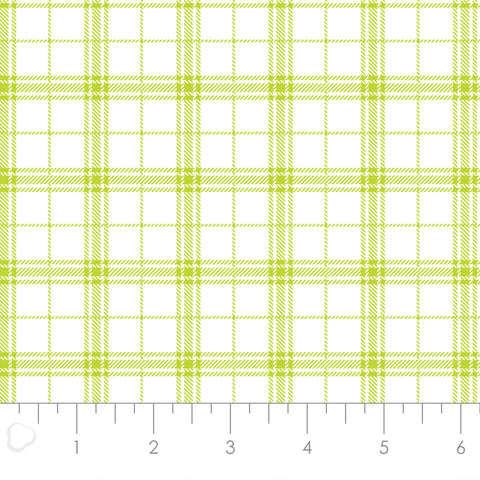 MIXOLOGY  21006-0036  Plaid-Lime