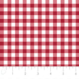 NEW MIXOLOGY  21007-0096  Gingham-Crimson