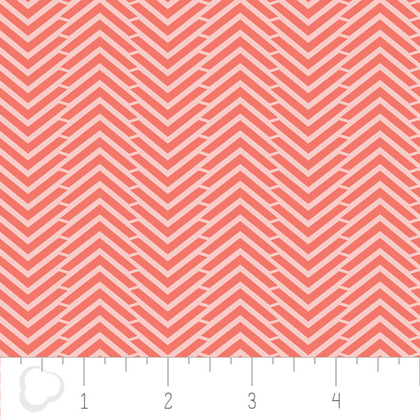 MIXOLOGY  2144-0030 Herringbone-Grapefruit