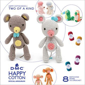 119090-15694/22 DMC HAPPY COTTON- TWO OF A KIND BOOK