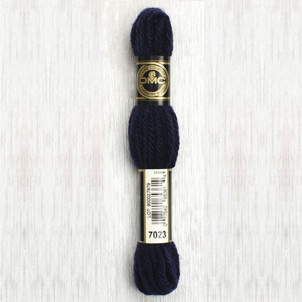 Tapestry Wool  7023 Dark Navy Blue