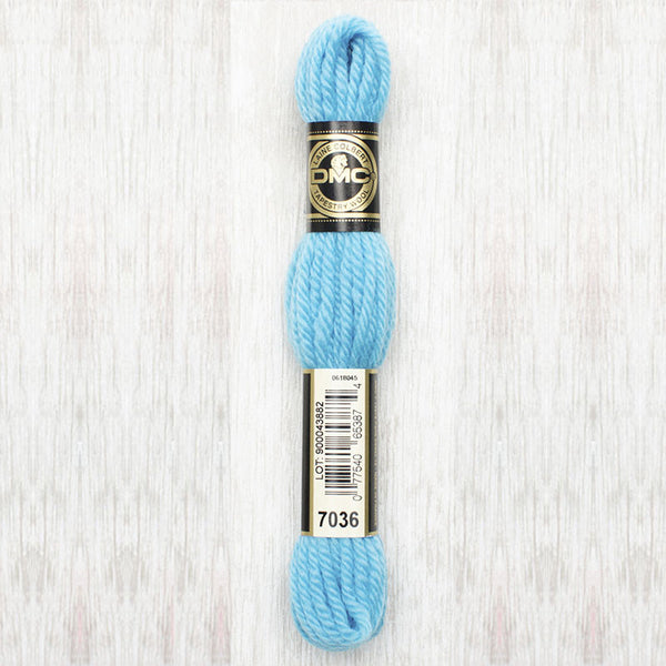 Tapestry Wool  7036 Light Bright Turquoise