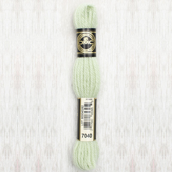 Tapestry Wool  7040 Very Light Yellow Green