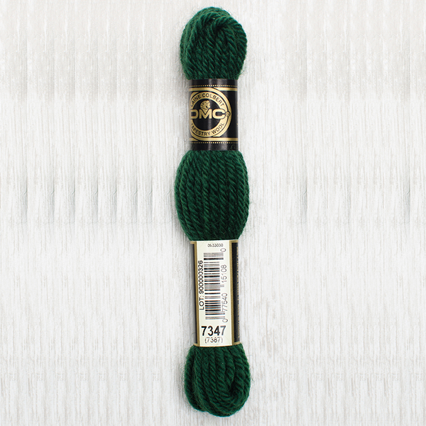 Tapestry Wool  7347 Very Dark Forest Green