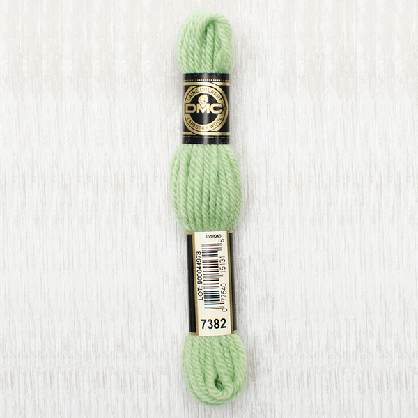 Tapestry Wool  7382 Very Light Yellow Green