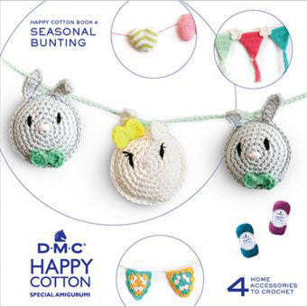 119090-15695/22 DMC HAPPY COTTON- SEASONAL BUNTING BOOK