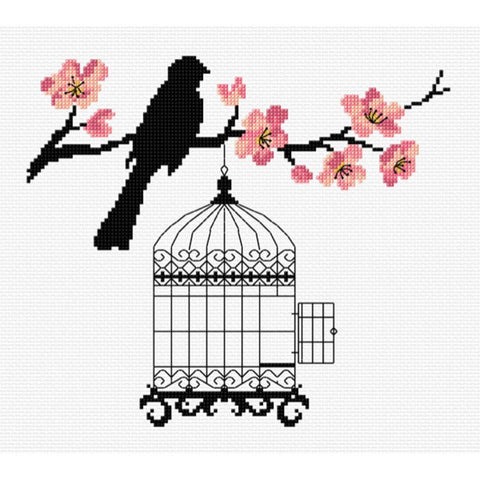 Bird & Blossoms  577109