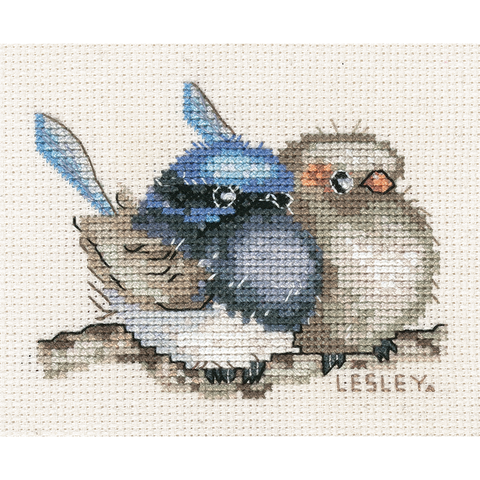 Blue Wren - Small 582112