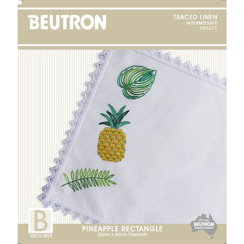 585311 Pineapple Rectangle Traycloth
