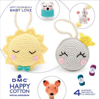 119090-15696/22 DMC HAPPY COTTON- BABY LOVE BOOK