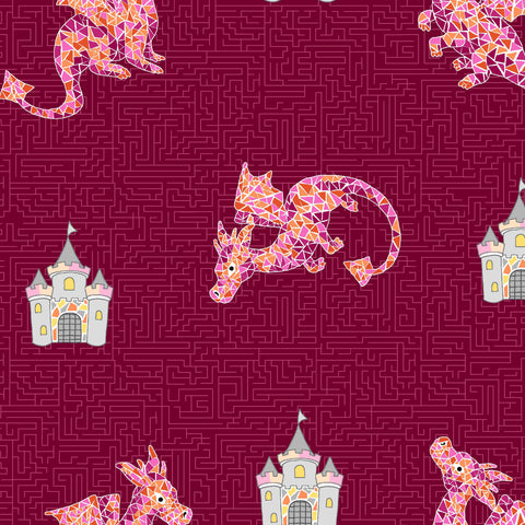 DRAGONS RULE - A-MAIZE-ZING CX8847-BERRY
