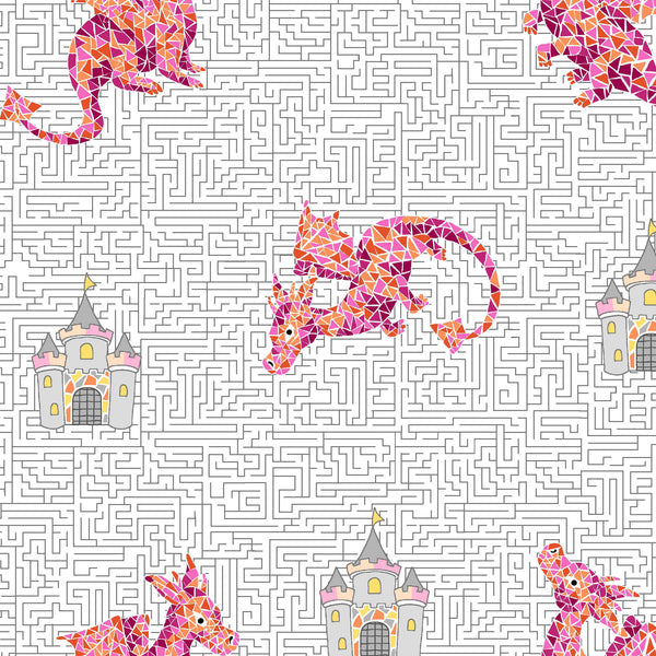 DRAGONS RULE - A-MAIZE-ZING CX8847-PINK