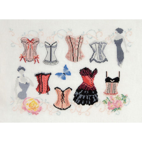 BK1469 Basques and Corset Sampler