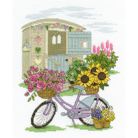 BK1549 Flowery Bicycle