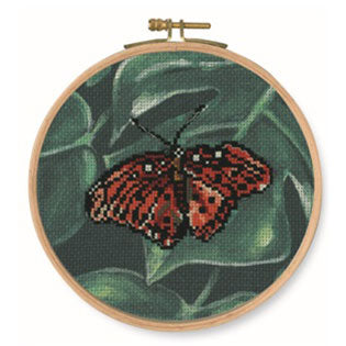 BK1788 Red Butterfly