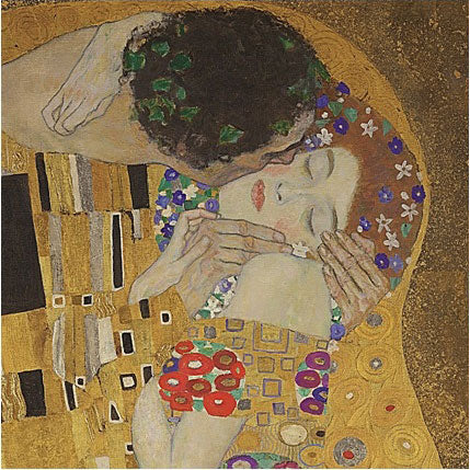 BK1811 Gustav Klimt -The Kiss