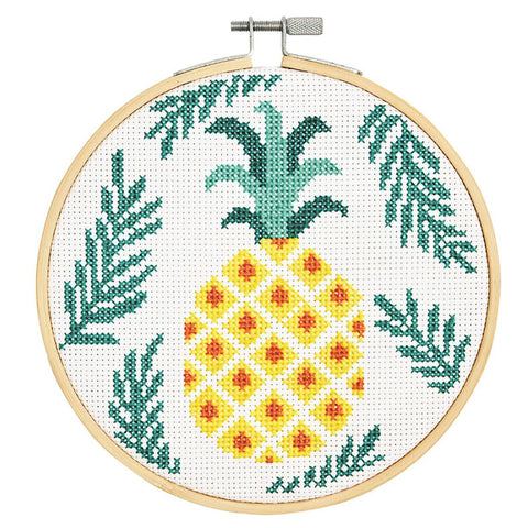 BK1833L Pineapple Counted Cross Kit