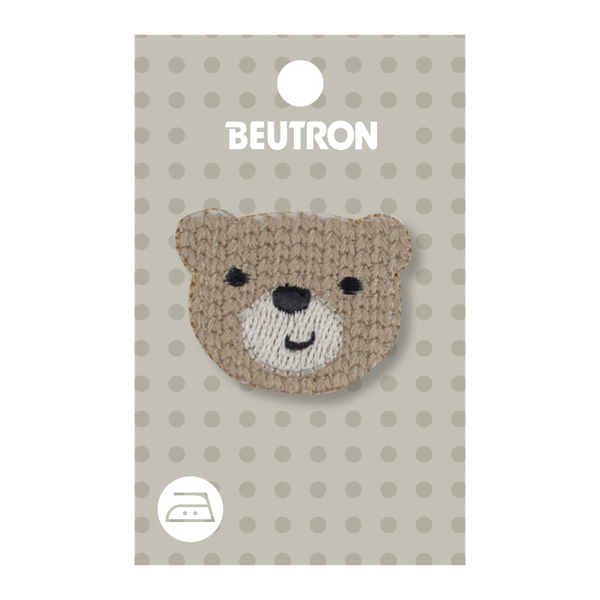 Motif Knitted Teddy Head Minimum 5
