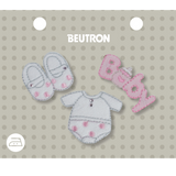Motif Wht/Pink Baby Set Minimum 5