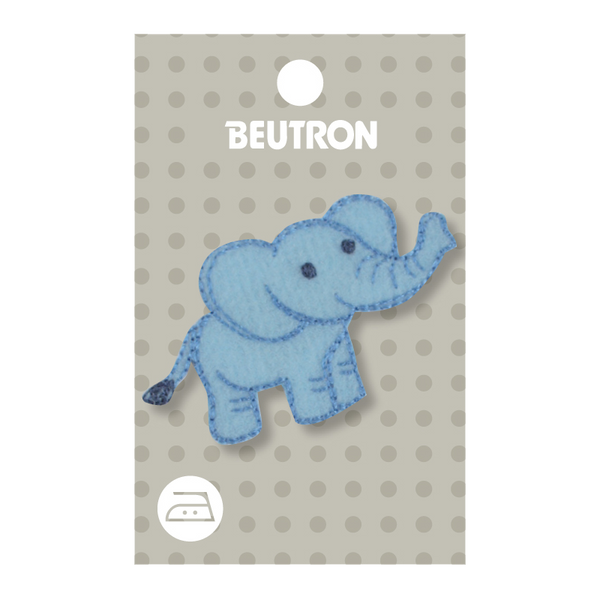 Motif Blue Elephant Minimum 5