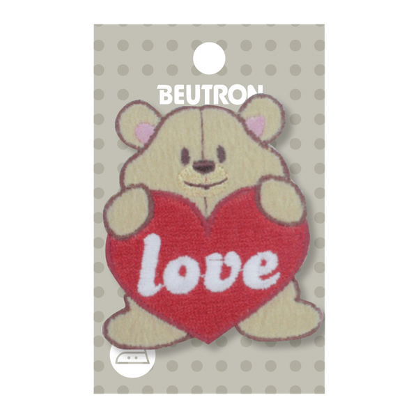 Motif Love Heart Bear Minimum 5