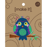 Mi Motif Bright Owls Blue M5