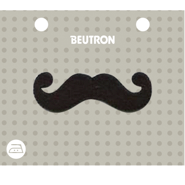BEUT MTF MOUSTACHE BLACK