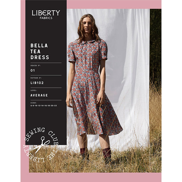 Liberty Dressmaking Pattern  643020-BELLA14