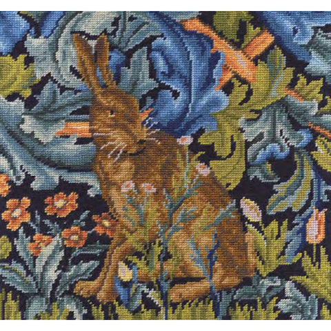 C120K-77 WM The HareTapestry