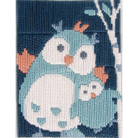 C302K - DMC I CAN STITCH-FILOU THE OWL