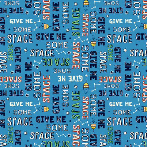 SPACE ODDITY-GIVE ME SOME SPACE (GLOW-IN-THE-DARK) CG9512-BLUE