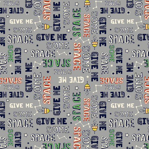 SPACE ODDITY-GIVE ME SOME SPACE (GLOW-IN-THE-DARK) CG9512-GRAY