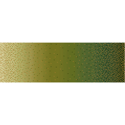 QUINTESSENTIALS - OMBRE BORDER - CX9234-OLIVE