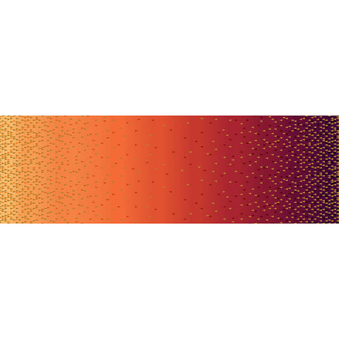 QUINTESSENTIALS - OMBRE BORDER - CX9234-ORANGE