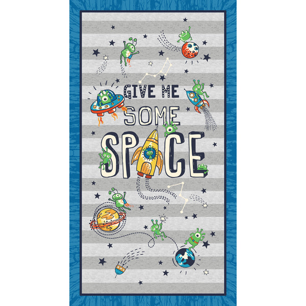 SPACE ODDITY-GIVE ME SOME SPACE PANEL CX9509-MULT