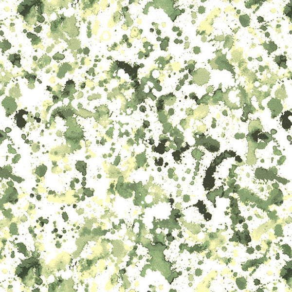 STRATA - CX8534 - INK BLOTS - BASIL