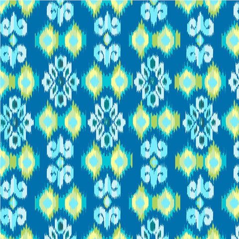 BOHO BOUTIQUE - CX8593 - SMALL IKAT - TEAL