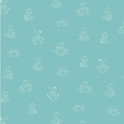 BABY BOOMERS - DUCKS IN A ROW CX8608-TEAL