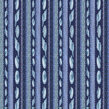 BEACHCOMBER - CX8628 - SHELL STRIPE - BLUE