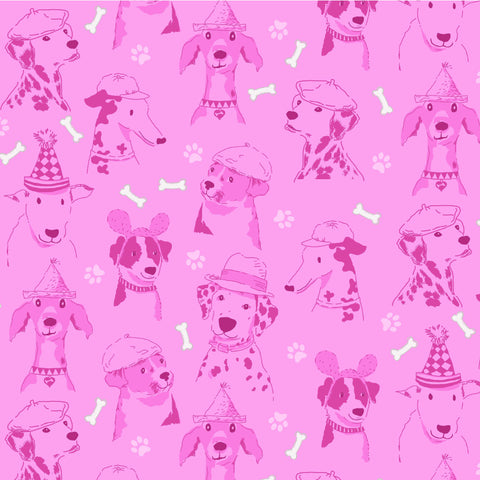 DOG SHOW- CANINE EXPRESSIONS CX8832-PINK
