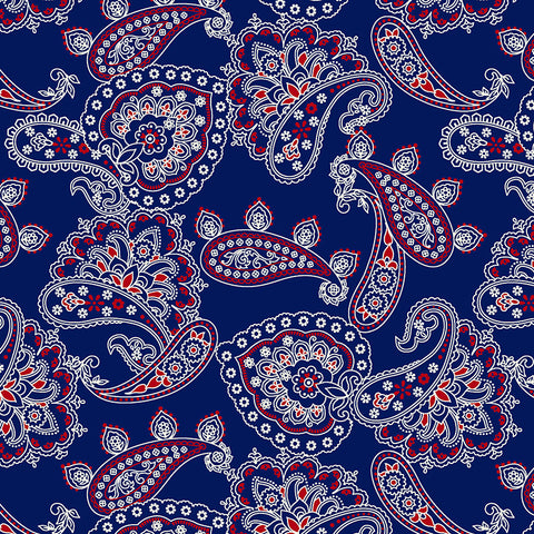 BANDANA BALLAD - BANDANA ALLOVER - CX9125-NAVY