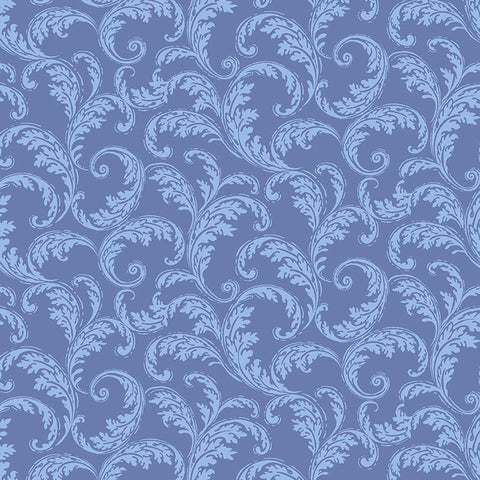 LA PARISIENNE - FRENCH SCROLL - CX9224-PERIWINKLE