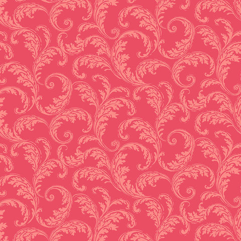 LA PARISIENNE - FRENCH SCROLL - CX9224-RED