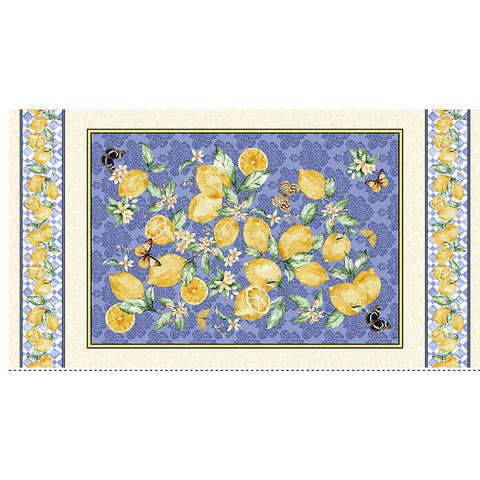 LIMONCELLO - LEMON BRANCH PANEL - CX9256-LEMON